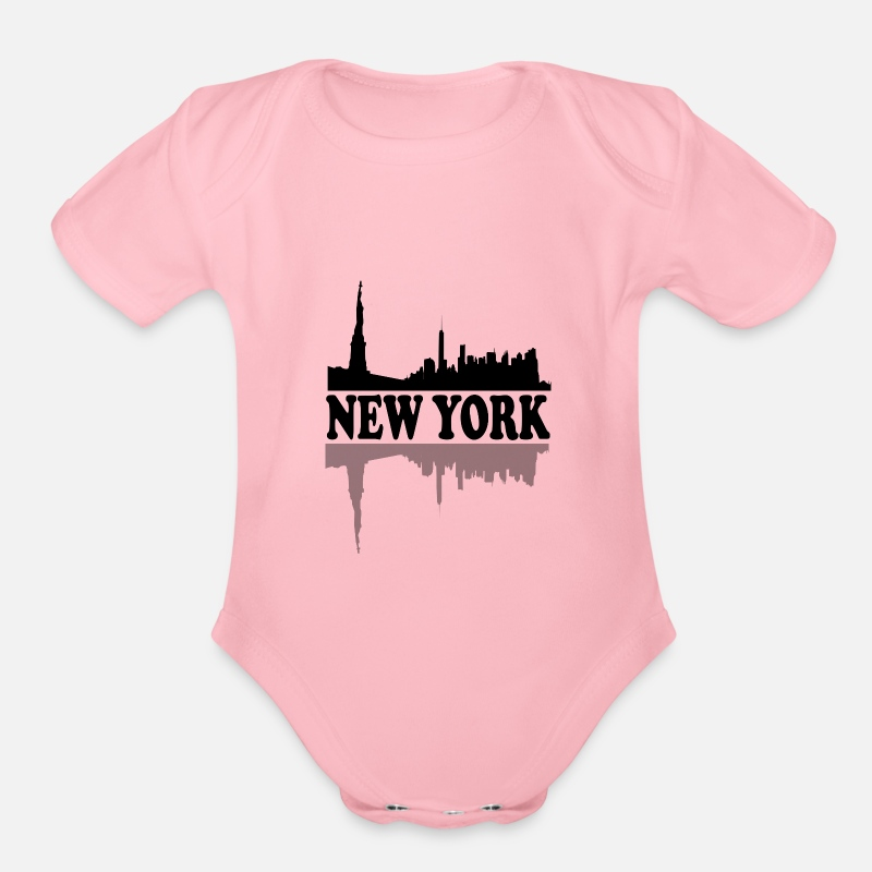 New York City Skyline NYC Lovers Fans Gift Idea Organic Short