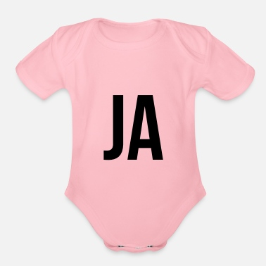 Ja JA - Organic Short-Sleeved Baby Bodysuit