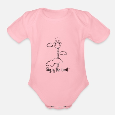 Tourist Sky is the limit - Organic Short Sleeve Baby Bodysuit