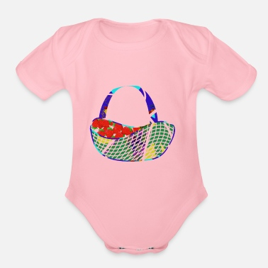 Basket Fresh Basket - Organic Short Sleeve Baby Bodysuit