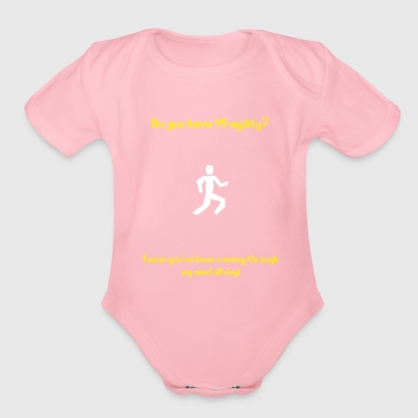 Runescape agility pickup line - Organic Short Sleeve Baby Bodysuit