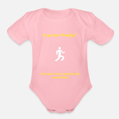 Pickup Line Runescape agility pickup line - Organic Short Sleeve Baby Bodysuit