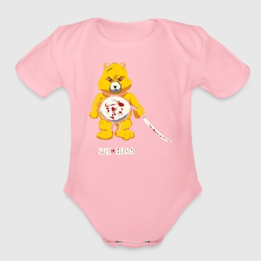 Killer Bear - Organic Short Sleeve Baby Bodysuit