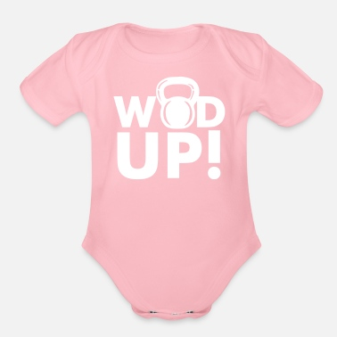 Crossfit Crossfit Wod Up - Organic Short Sleeve Baby Bodysuit
