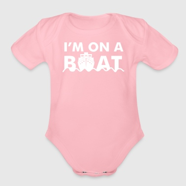Boat On A Boat - Organic Short Sleeve Baby Bodysuit