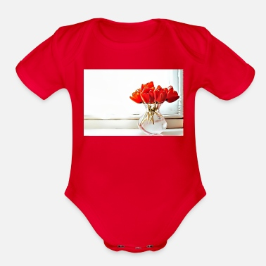 Occasion 32 Birthday - Special Occasions - Organic Short-Sleeved Baby Bodysuit