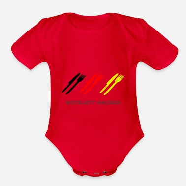 Germany germany - Organic Short-Sleeved Baby Bodysuit