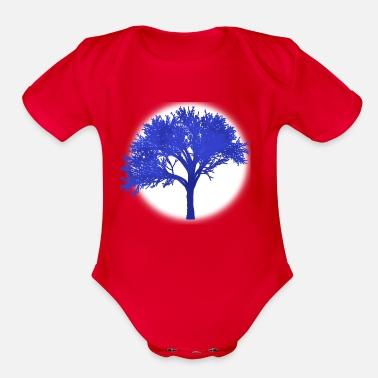 6de084fa1c28 Moon Tree Dreamy Fantasy Print Gift Idea Magical Organic Short ...