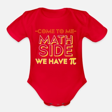 Pi Day PI DAY - Organic Short Sleeve Baby Bodysuit
