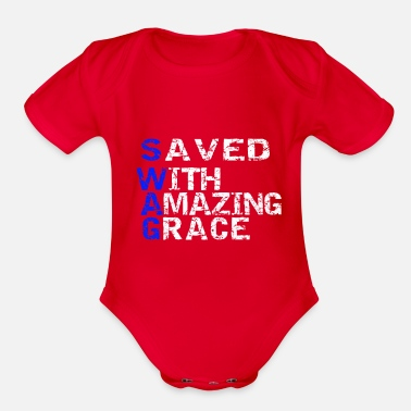 Style Swag - Organic Short-Sleeved Baby Bodysuit