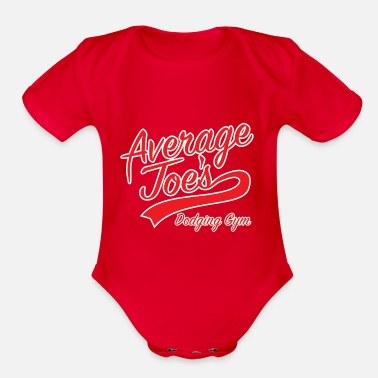 Gymnasium Average Joes Gymnasium - Organic Short-Sleeved Baby Bodysuit