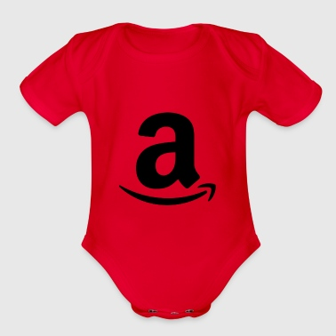 word - Organic Short Sleeve Baby Bodysuit