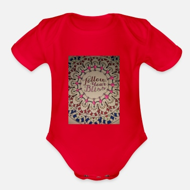Bliss Bliss - Organic Short-Sleeved Baby Bodysuit