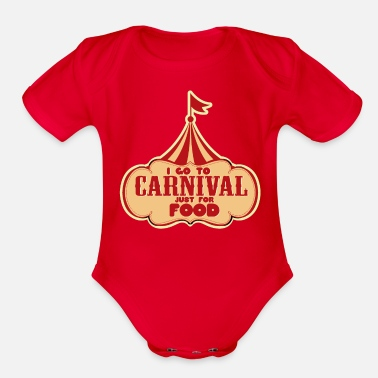 Rhinelandpalatinate I Go to Carnival - Organic Short-Sleeved Baby Bodysuit
