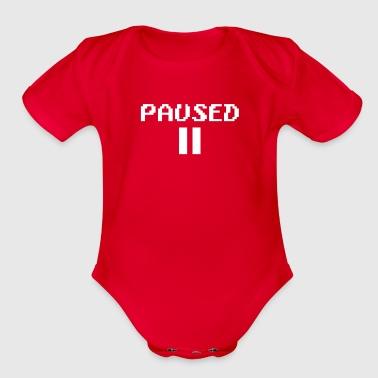paused - Organic Short Sleeve Baby Bodysuit