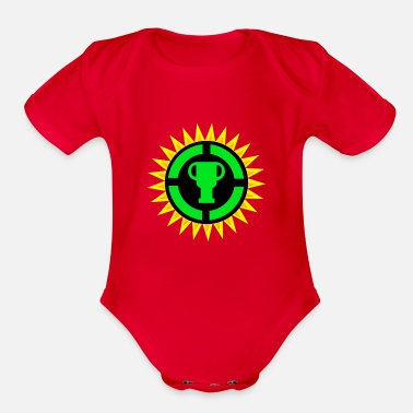 Game Game Theory Official Ultimate Logo - Gamers Gifts - Organic Short-Sleeved Baby Bodysuit