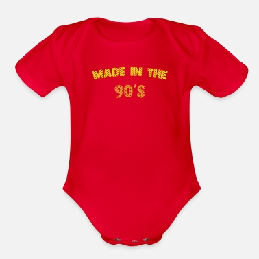 Nineties Made in the Nineties - Organic Short-Sleeved Baby Bodysuit
