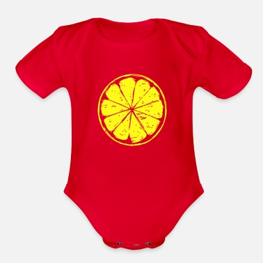 Lemon lemon - Organic Short-Sleeved Baby Bodysuit