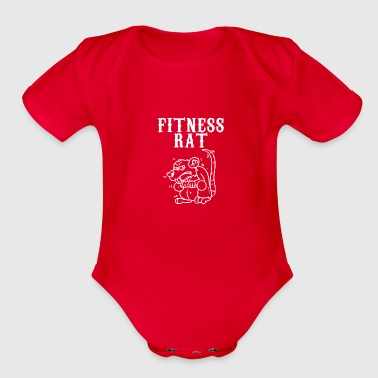 Signs of the zodiac rat - Organic Short Sleeve Baby Bodysuit