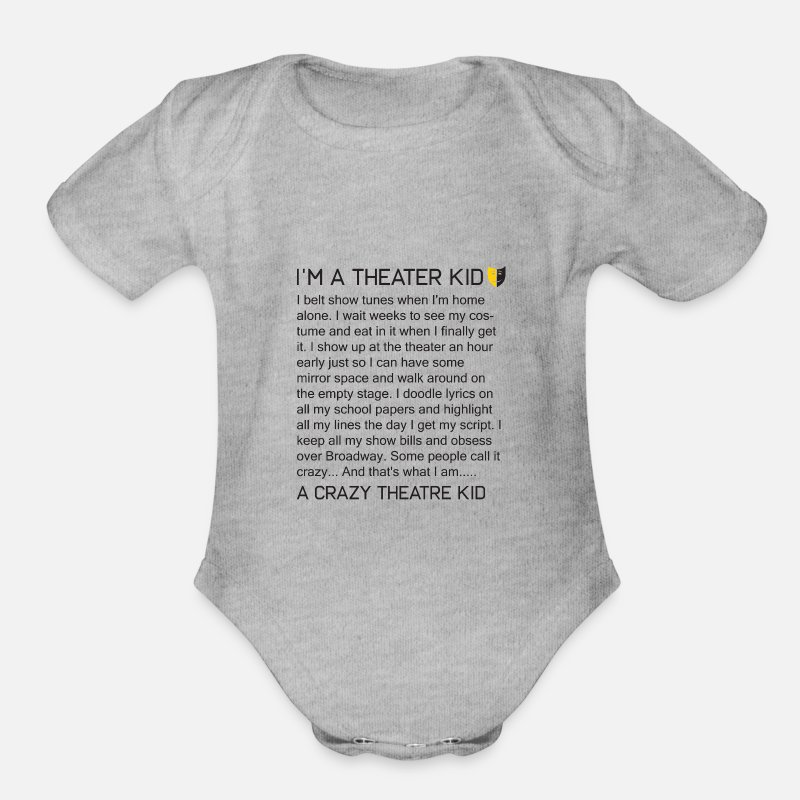 Mad About Musical Theatre kids short sleeve t-shirt