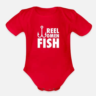 Funn Reel Legend Funn - Organic Short-Sleeved Baby Bodysuit
