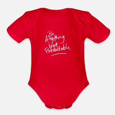Anything Be Anything - Organic Short-Sleeved Baby Bodysuit