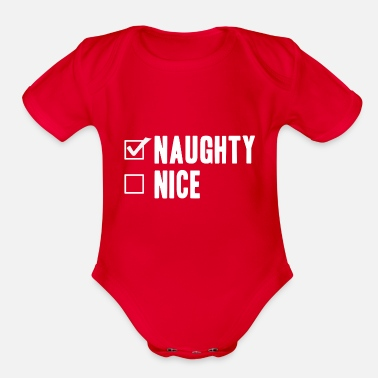 Present no presents - Organic Short Sleeve Baby Bodysuit