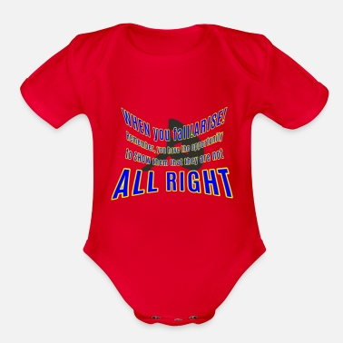 Attitude To Life attitude to life - Organic Short-Sleeved Baby Bodysuit