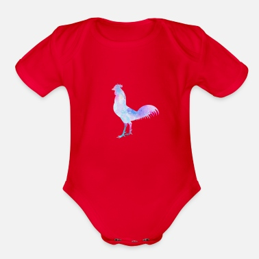 Hen HEN - Organic Short-Sleeved Baby Bodysuit