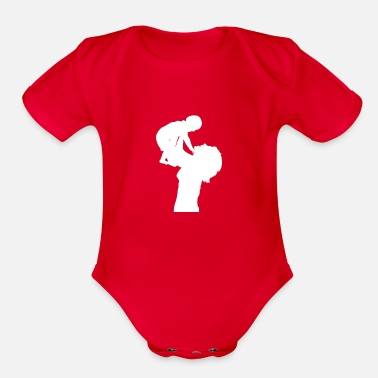 Proudmum Mother - Organic Short-Sleeved Baby Bodysuit