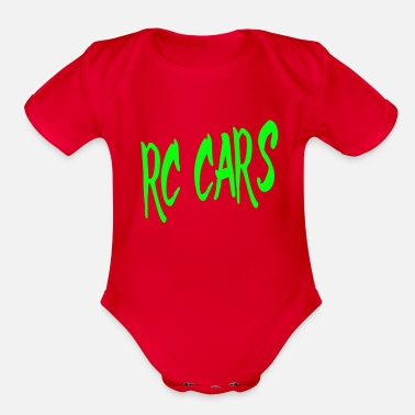 Rc rc cars - Organic Short-Sleeved Baby Bodysuit