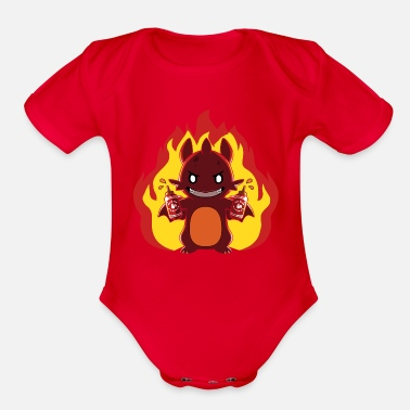 Heat Bring the Heat - Organic Short-Sleeved Baby Bodysuit