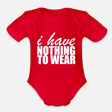 Wear Nothing To Wear - Organic Short-Sleeved Baby Bodysuit