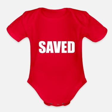 Saving SAVED - Organic Short-Sleeved Baby Bodysuit