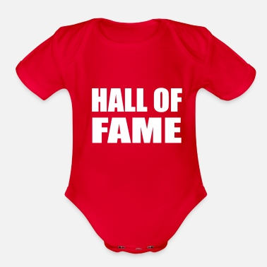Hall HALL OF FAME - Organic Short-Sleeved Baby Bodysuit