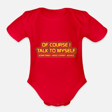 Funny Parenting Funny Sayings About And For Parents - Organic Short-Sleeved Baby Bodysuit