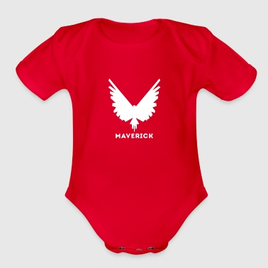 maverick - Organic Short Sleeve Baby Bodysuit