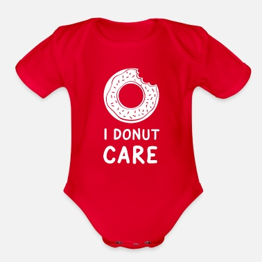Caress I Donut Care - Organic Short Sleeve Baby Bodysuit