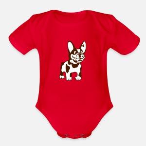 Short Sleeved Baby Bodysuit