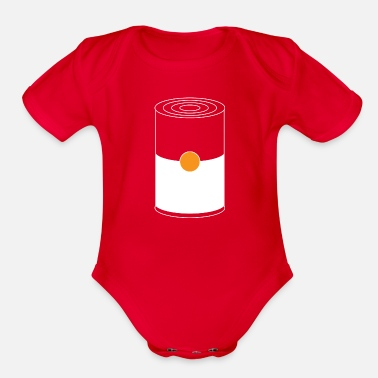 Pop Art POP ART - Organic Short-Sleeved Baby Bodysuit