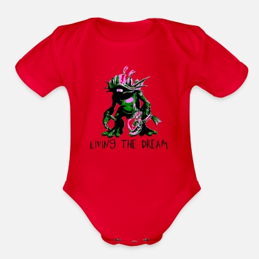 Murky - Organic Short-Sleeved Baby Bodysuit