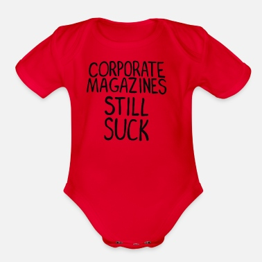 Corporate Corporate Magazines - Organic Short-Sleeved Baby Bodysuit