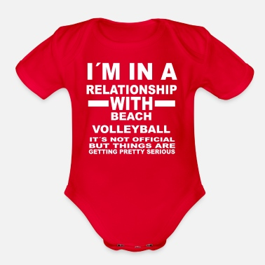 Beach Volleyball relationship with BEACH VOLLEYBALL - Organic Short Sleeve Baby Bodysuit
