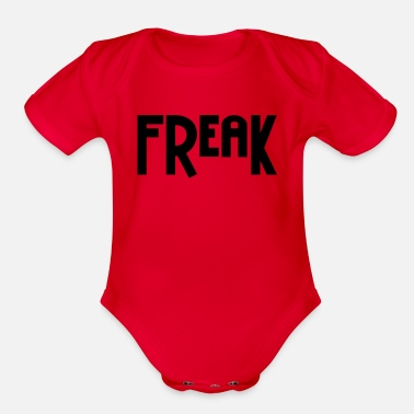 Freak Freak - Organic Short Sleeve Baby Bodysuit