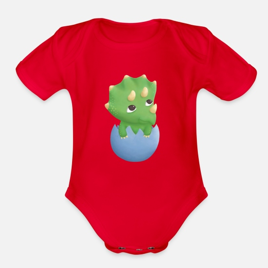 Custom Made T Shirt Cute Baby Dinosaur Egg Hatching Cute Boys Toddlers Infants