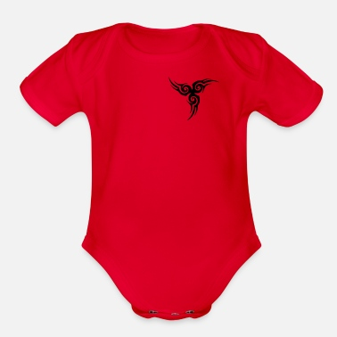 Tatoo Tatoo shirt - Organic Short Sleeve Baby Bodysuit