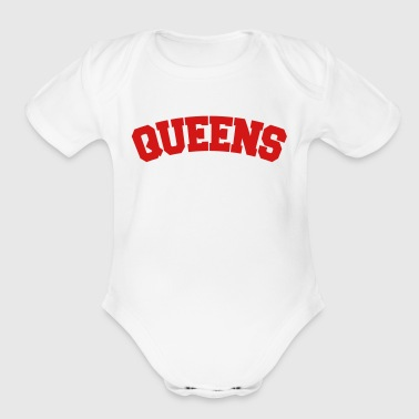 QUEENS, NYC - Organic Short Sleeve Baby Bodysuit