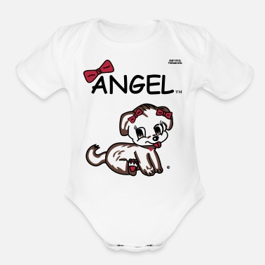 Angel Angel - Organic Short Sleeve Baby Bodysuit