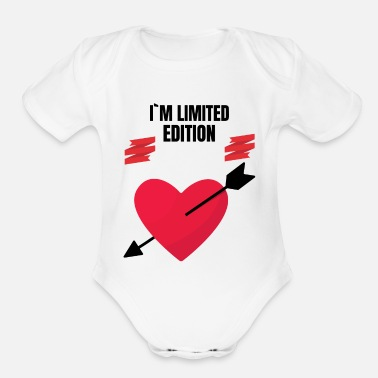 Edition edition - Organic Short-Sleeved Baby Bodysuit