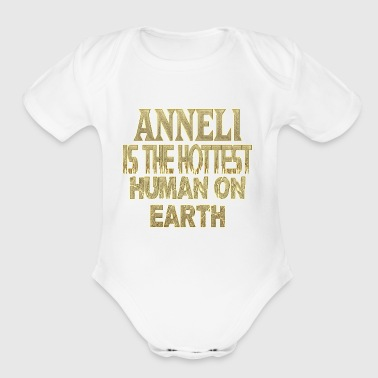 Anneli - Short Sleeve Baby Bodysuit